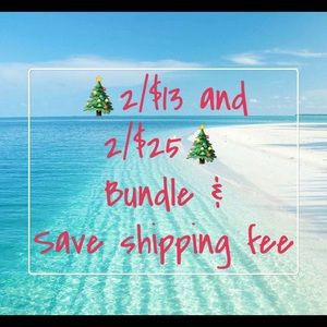Christmas 🎄🎁In July 2/$13 & 2/$25